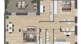 5 Vani Tip B Via Monterosa Complesso Residenziale Ex Foro Boario