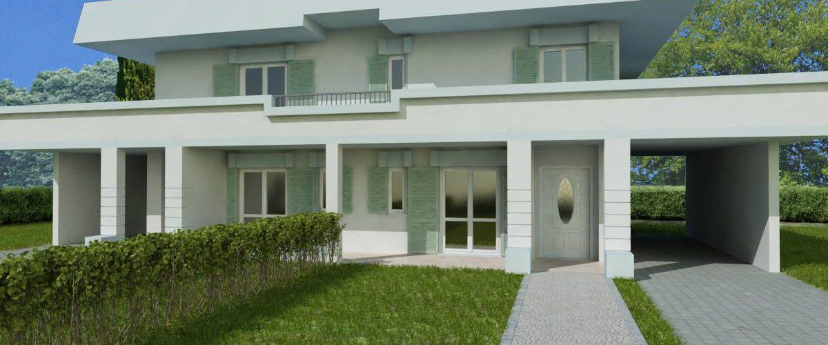 Villa Bifamiliare Via Svizzera Tip. C